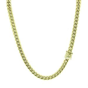 Harlembling 14k Gold Cuban Miami Link Chain